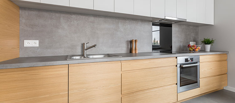 worktop concrete kitchen