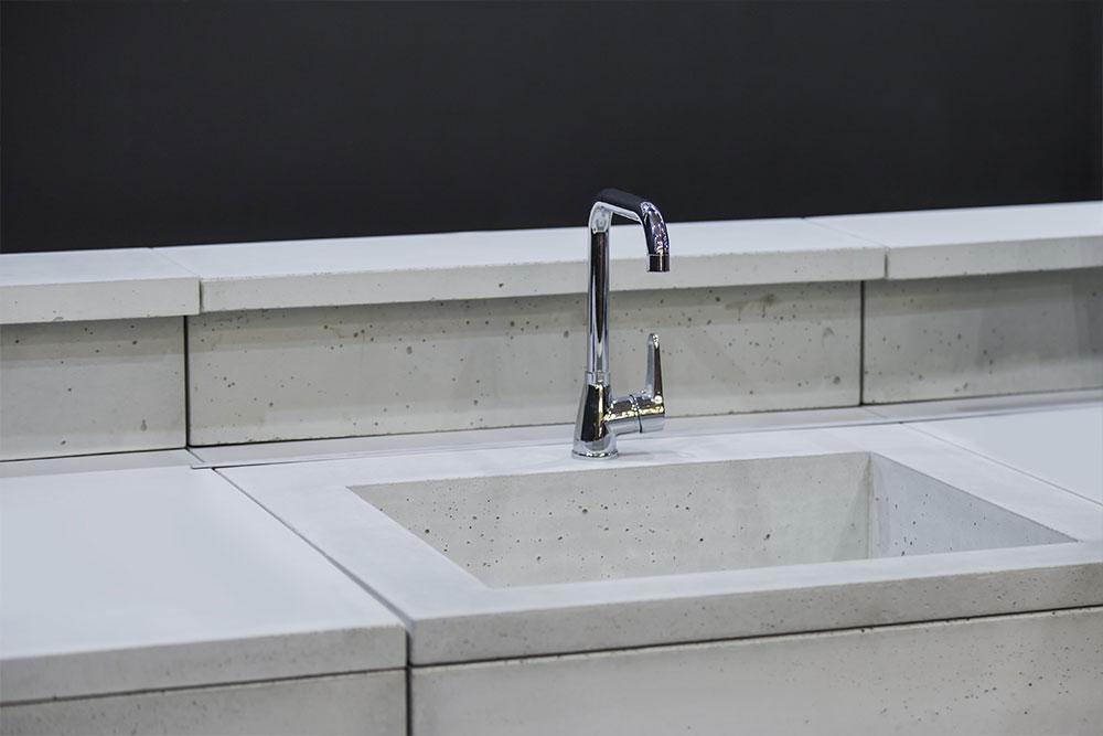 kitchen concrete worktop benchtop